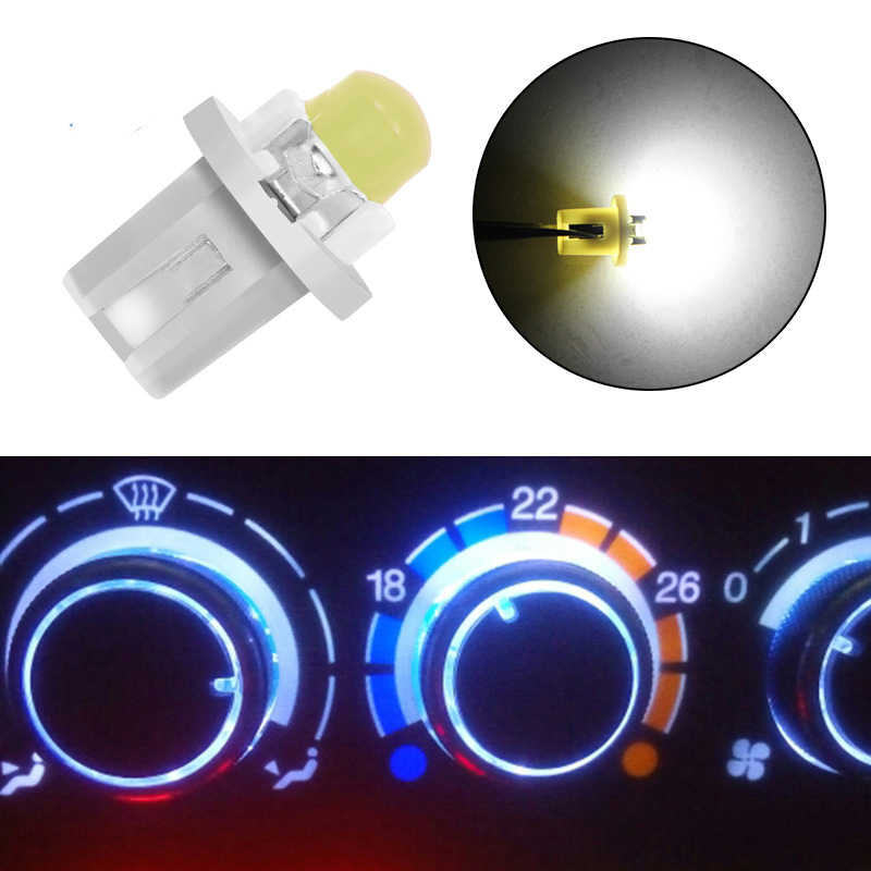 1piece T5 B8.5 B8.5D Car Auto LED Indiator Gauge Lights Interior Dashboard Dash Side Lamp DC12V Red White Blue Signal Bulb
