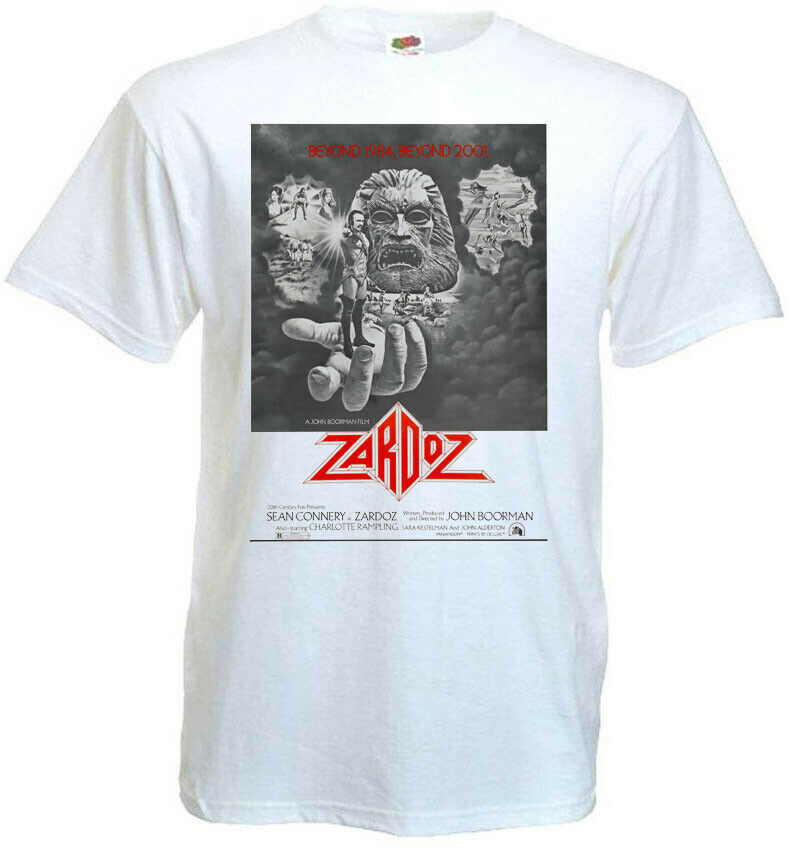 Zardoz V3 <font><b>Sean</b></font> Connery <font><b>T</b></font> <font><b>Shirt</b></font> Movie Poster John Boorman All Sizes S 5Xl image