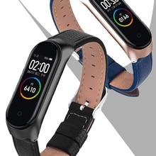 Smart-Watch-Band Bracelet-Strap Rose-Gold-Case Xiaomi Black for 4/3/5-strap Colorful