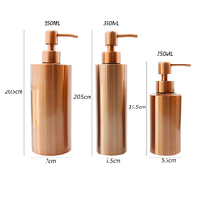 550 Ml Dispenser Kitchen Bathroom Hand Pump Soap Bathroom Sink Shower Gel Shampoo Lotion Liquid Hand Soap Pump Bottle Container 380ml ball shape liquid soap dispensers pump shower shampoo bottle hand sanitizer container bathroom accessories