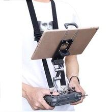 DJI Mavic 2 Pro hava 2 Mavic Pro uzaktan kumanda braketi Tablet telefon monitörü klip Crystalsky tutucu Mavic Mini aksesuarları