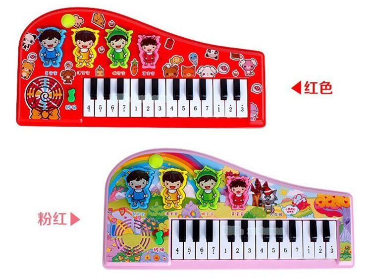 168-4 Like Baby Bao Play Hamster Electronic Keyboard Sound CHILDREN'S Song Lights Multi-functional Early Childhood Educational T