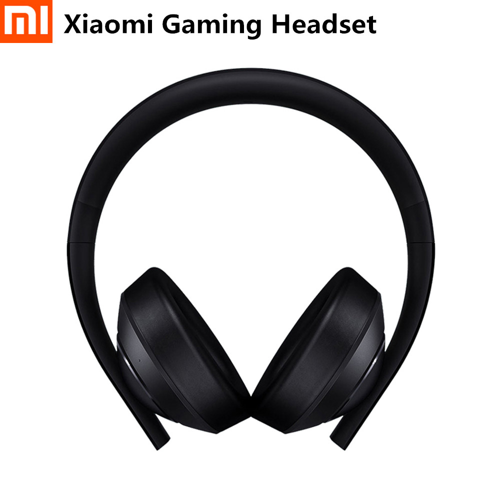 <font><b>Xiaomi</b></font> Mi Gaming Headset 7,1 Virtuelle Surround Sound Kopfhörer Mit Mikrofon LED Licht Noise Cancelling Volumen Control Geschenk image