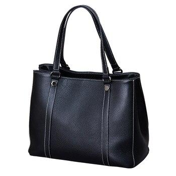 2019 Fashion Hobos Women Bag Ladies Brand Leather Handbags winter Casual Tote Bag Big Shoulder Bags For Woman-in Top-Handle Bags
