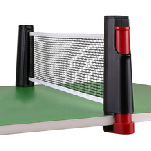 Rack Table-Tennis-Net Ping-Pong-Accessory Retractable New with 1pair