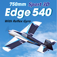 FMS RC Airplane Plane 750mm Edge 540 Indoor Park Flyer 3D Acrobatic Sport with Reflex Gyro Auto Balance PNP Model Hobby Aircraft