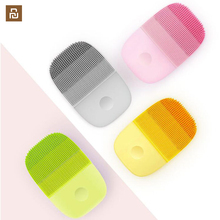 Youpin inface inteligente sonic limpo elétrica profunda limpeza facial escova de massagem lavagem cuidados com o rosto mais limpo recarregável