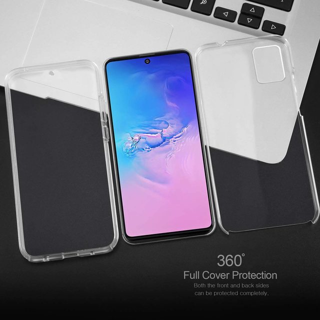 New 360 Shockproof Case for Samsung Galaxy S21 Ultra S20 S10 S10E S9 S8 Plus S7 Edge A02S A12 A32 A42 A52 A72 A21S M31S Cover 6