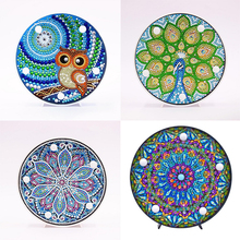 5D DIY Many Pattens Full Drill Diamond Painting Light Lamp Rhinestone Embroidery Special Shape LED