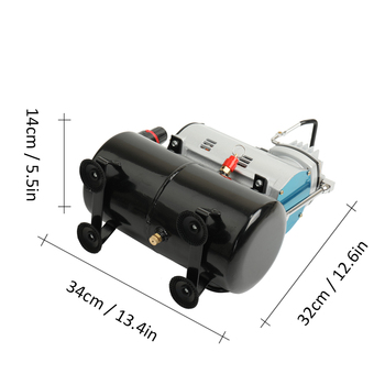 цена на EU High-efficiency Oil-less Quiet Air Compressor High-pressure Pump Woodwork Air Spray Paint Compressor Blast Pump Set