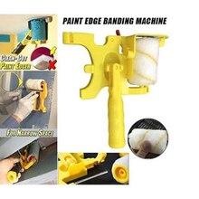 Роликовая кисть для обрезки стен, многофункциональная роликовая кисть для краски, инструмент для чистки и резки краски на стене