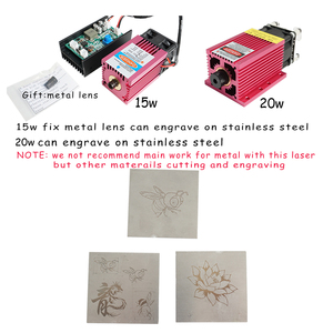 Image 4 - 6550 20w laser da máquina de gravura do laser do controle ttl do cnc 15w da máquina de gravura do laser 5500mw, máquina do laser 1.6w, área de trabalho 65*50