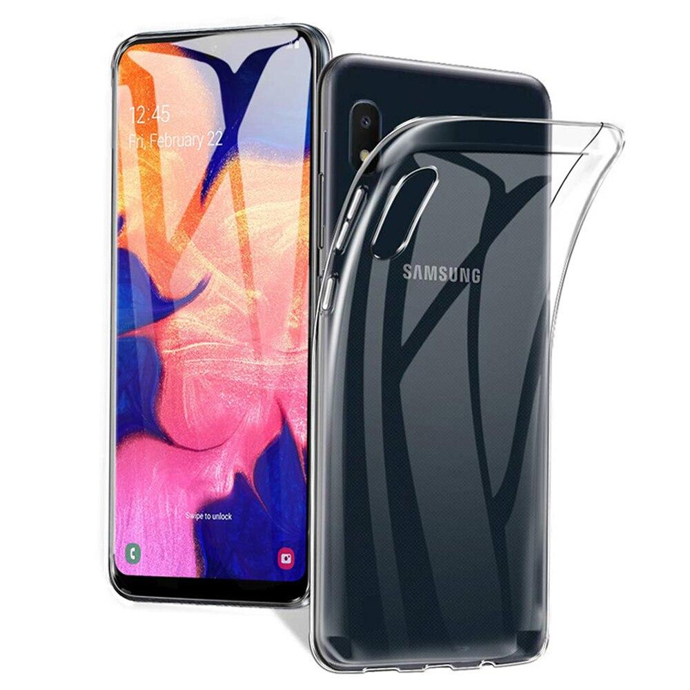 Прозрачный чехол для Samsung Galaxy A10 A10s A10e, амортизирующий силиконовый гелевый Чехол из ТПУ для Samsung Galaxy A10, чехол для телефона