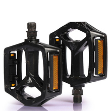 New 1 Pair Aluminum Aalloy Bicycle Pedal Anti-slip CNC MTB Mountain Bike Pedal Sealed Bearing Pedals Bicycle Accessories wheel up 1 pair ultralight cnc mtb mountain bike pedal anti slip 3 bearings bicycle pedal sealed bearing pedals