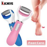 Электрический пилочка для ухода за ногами, средство для удаления омертвевшей кожи, питание от аккумулятора, usb-отшелушивающий инструмент дл...