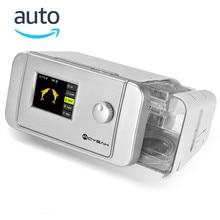 MOYEAH Auto BPAP BiPAP Machine Medical Equipment With Nasal Mask Breathing Tube Hose Insert SD Card For Sleep Apnea Anti Snoring