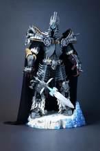 Yeni yaratıcı serisi Lich kral Arthas modeli yapı taşları Set klasik MOC koleksiyonu rakamlar oyuncaklar çocuklar için