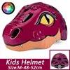 Batfox novo capacete de segurança das crianças ciclismo patinação capacete ultraleve protetor capacete da bicicleta esportes ao ar livre engrenagem protetora 13