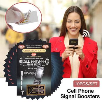 10 sztuk telefonu komórkowego telefon wzmacniacze sygnału wzmocnienie naklejki promieniowania naklejka ochronna wzmacniacz dla 4G wzmacniacz anteny tanie i dobre opinie NONE CN (pochodzenie)