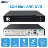 Grabador de vídeo Digital con salida HD para cámaras de vigilancia, DVR H.264, AHD, NVR, 16 canales, soporte de cámara analógica, IP, AHD