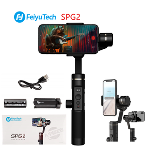 Image 1 - FeiyuTech Feiyu SPG2 estabilizador de cardán de mano de 3 ejes a prueba de salpicaduras diseño para Smartphone iphone Xs X 8 7 Galaxy S9 + Gopro 7 6