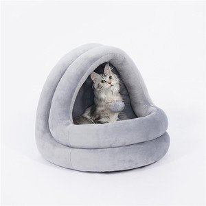 Image 5 - High Quality Cat House Beds Kittens Pet Cats Sofa Mats Cozy Bed Toy Dog for Small Kennel Home Cave Sleeping Nest Indoor Products