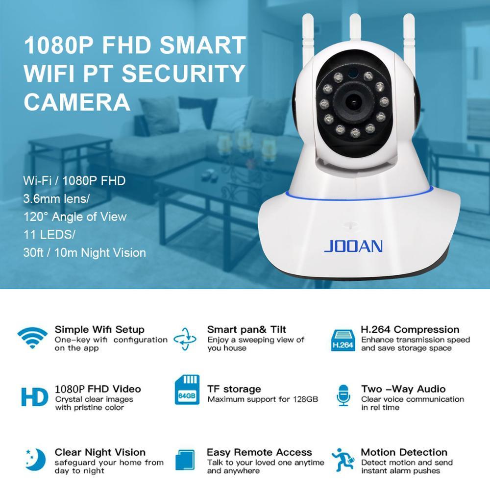 JOOAN ip kamera wifi varnostna kamera otroški monitor 1MP 2MP cctv - Varnost in zaščita - Fotografija 3