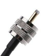 RF קואקסיאלי כבל מחבר UHF PL259 זכר UHF זכר PL259 RG58 צמת כבל 50cm