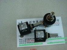 1 pçs/lote Segunda-mão máquinas de impressão acessórios 5 K multi - turn potenciômetro L M22S10 potenciômetro comprimento do eixo 23 MM