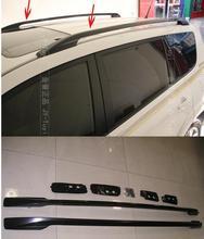 2006 ~ 2012 dla Toyota RAV4 wysokiej jakości stopu Aluminium bagażnik (wklejony bezpośrednio zainstalowany) tanie tanio Bay Wan Yi yang CN (pochodzenie) 1inch Chrom stylizacja STAINLESS STEEL