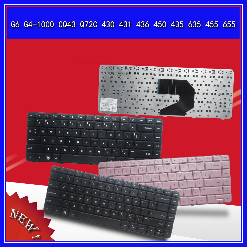 Laptop <font><b>Keyboard</b></font> For <font><b>HP</b></font> G6 G4-1000 CQ43 Q72C <font><b>430</b></font> 431 436 450 435 635 455 655 Notebook Replace US <font><b>Keyboard</b></font> image