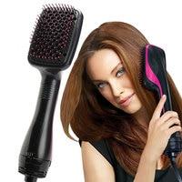 Suszarka do włosów Volumizer szczotko-suszarka do włosów prostownica gorący rozpylacz wielofunkcyjny grzebień mokre i suche włosy użyj podróży suszarka nadmuchowa