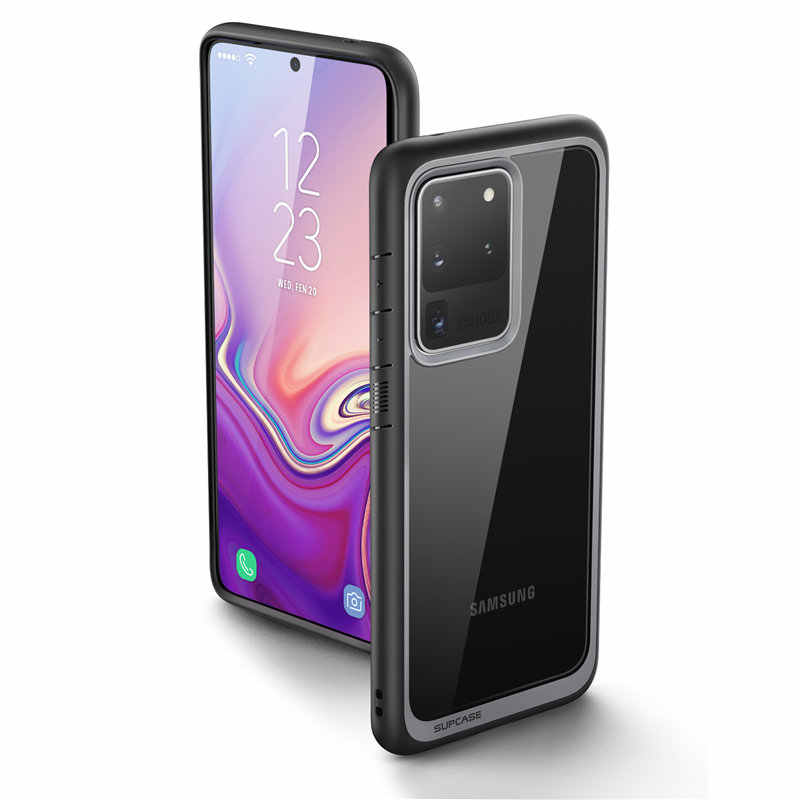 For Samsung Galaxy S20 Ultra Case/ S20 Ultra 5G Case (2020) SUPCASE UB Style Premium Hybrid TPU Bumper Protective Clear PC Cover