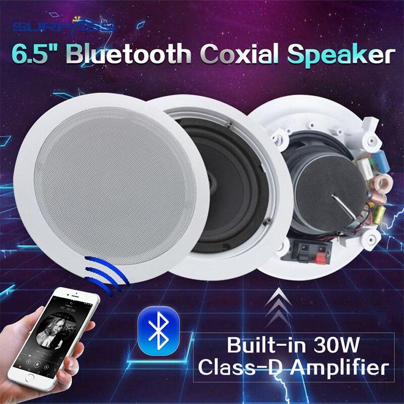 Alto-falante de Bluetooth do Teto Eco-amigável do Bluetooth do Abs Coxial com Amplificador Alto-falante Material 6.5