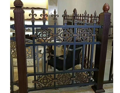 Wrought Iron Electric Used Chain Link Decorative Metal Garden Security Fence Panels For Sale