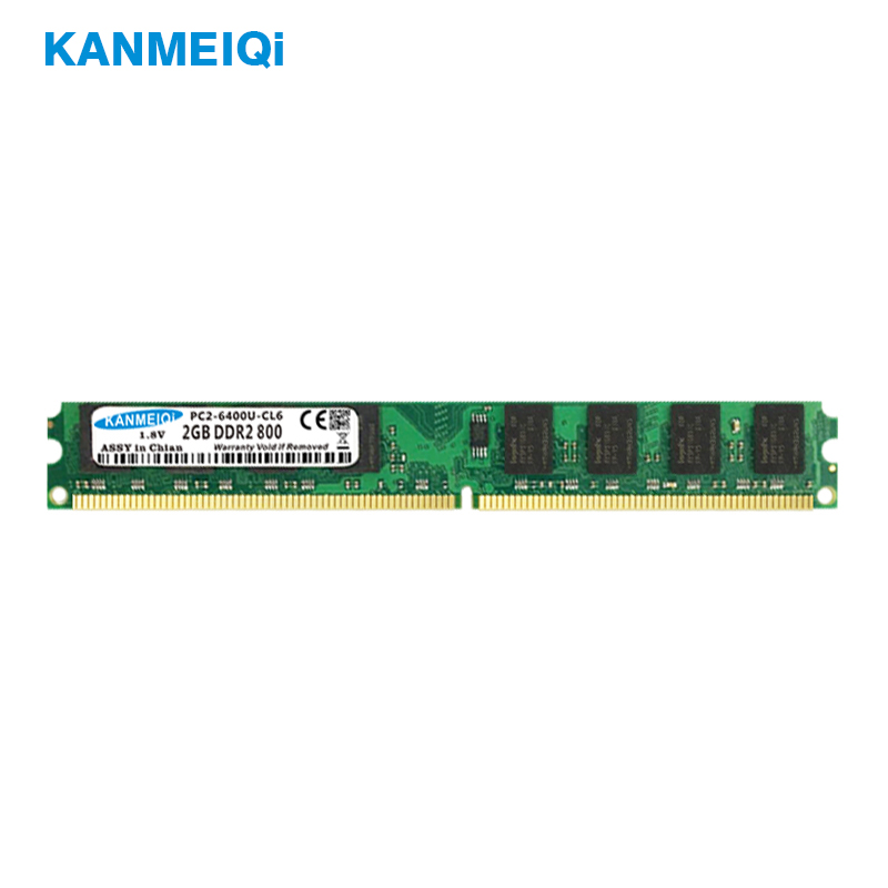 KANMEIQi DDR2 2GB RAM for Desktop with 800MHz Memory Speed 2