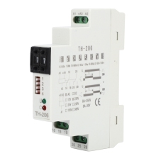 TH-206 220V Cyclic Delay Time Relay High Accuracy Universal AC/DC for Mechanical Equipment Automated Control Systems cyclic pure submodules