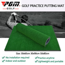 PGM Golf Praxis Gras Matte Indoor-Training Schlagen Pad Hinterhof Mit Gummi T Outdoor Mini Golf Training Aids Zubehör(China)