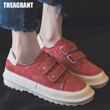 THEAGRANT 2019 Fashion Women Sneakers Warm Fur Winter Platform Shoes
