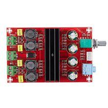цена на TDA3116D2 Digital Audio Power Amp 100W x2 2.0 Stereo Class D HIFI amplifier DC 12V 24V XH-M190 D3-007
