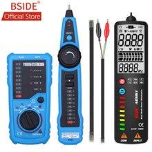 BSIDE – traceur de fil téléphonique RJ45 Cat5 Cat6, FWT11, testeur de câbles réseau LAN Ethernet, détecteur de ligne, haute qualité