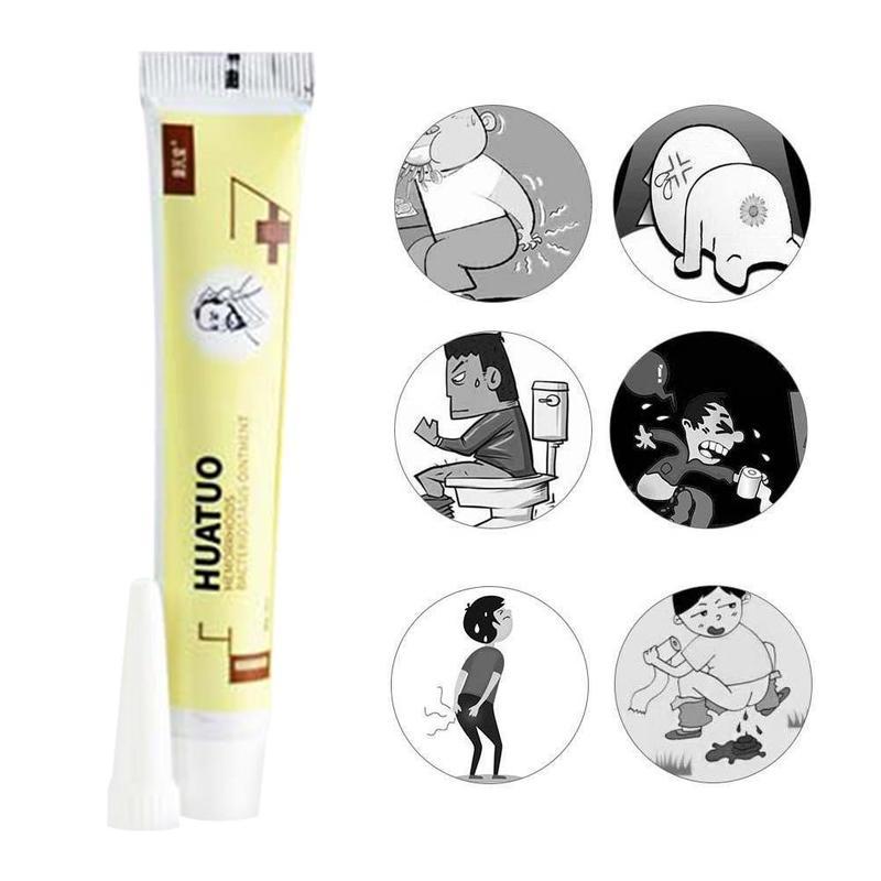 Hemorrhoids Ointment 100% Original Vietnam Chinese Cream Herb Cream Painkiller Pain Relief External Anal Fissure Medical Plaster