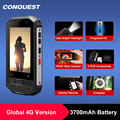 CONQUEST F2 Mini IP68 Waterproof NFC Rugged Mobile Phone celular Fingerprint Android Cheap Cell phone Cellphone Smartphone