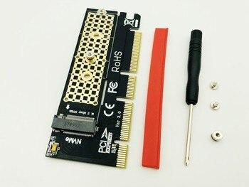 Pci-express PCIE 3.0X4 Do M2 SSD Karta Adaptera NVME Interfejs Klucza M NVME SSD M2 Karta Rozszerzająca PCI-E Dla 2230 2242 2260 2280 M.2 SSD