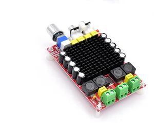 Image 4 - TDA7498 Class D High power Digital amplifier board 2x 100w amplifiers amplificador audio DC 12V 24V