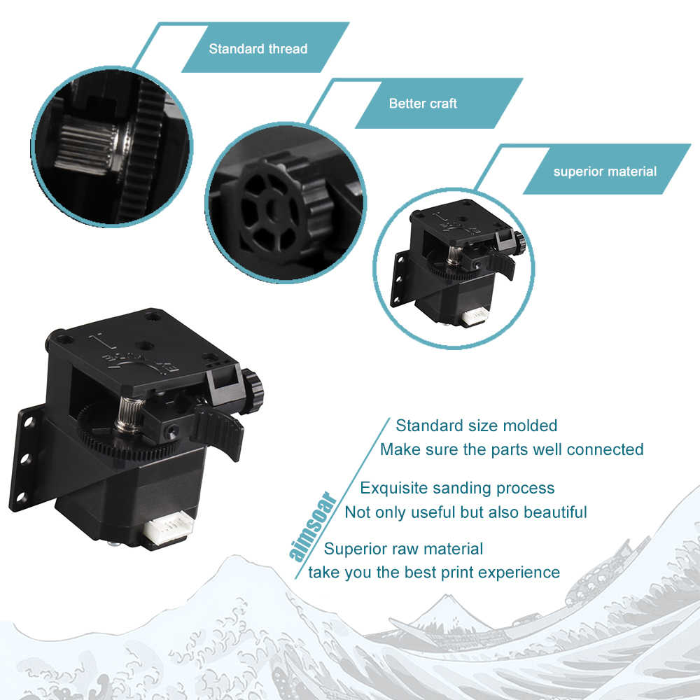 タイタン押出機 3D用プリンター部品MK8 E3D V6 hotend j-ヘッドボーデン取付ブラケット 1.75 ミリメートルフィラメント