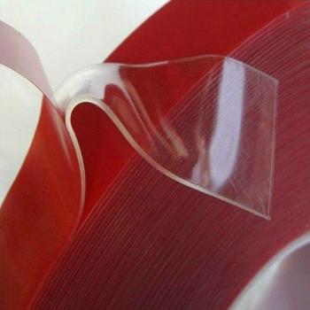 Przezroczysta akrylowa taśma dwustronna pianka akrylowa naprawiono dywan gniazdo przezroczysty klej taśmy klej gekko narzędzie tanie i dobre opinie CN (pochodzenie) Woodworking acrylic Taśma Maskująca high