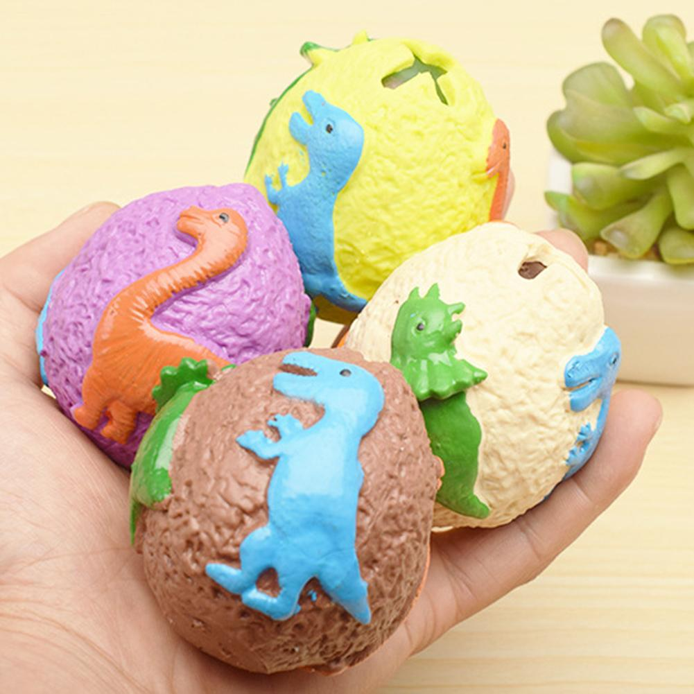 1Pc Dinosaur Egg Squeeze Water Ball Hand Grip Decompression Toy For Kids Adults Toy Stress Vent Toy