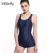 Vikionfly размера плюс Спортивный Купальный костюм для женщин