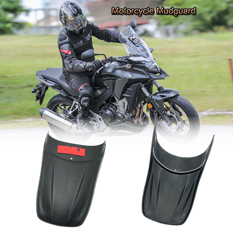 For HONDA <font><b>CB500X</b></font> CB 500X 500 X <font><b>cb500x</b></font> <font><b>2013</b></font> 2017 2018 Motorcycle Mudguard Fender Splash Guard Extension Mudflap Cover Accessories image